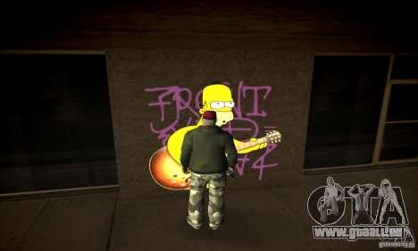 Simpson Graffiti Pack v2 für GTA San Andreas dritten Screenshot