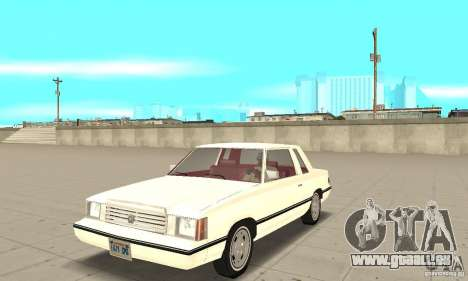 Dodge Aries 1983 pour GTA San Andreas