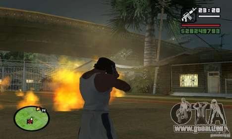 Base GROOVE Street pour GTA San Andreas sixième écran