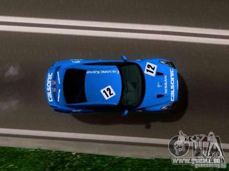 Nissan GTR 2010 Spec-V pour GTA San Andreas vue de droite