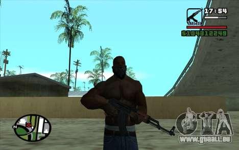 Kalashnikov modernisiert für GTA San Andreas fünften Screenshot