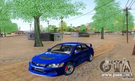 Mitsubishi Lancer Evolution 9 MR Edition pour GTA San Andreas