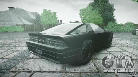 Ruiner KNIGHT RIDER Skin für GTA 4 Seitenansicht