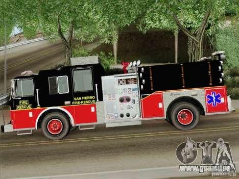 Seagrave Marauder Engine SFFD für GTA San Andreas Motor