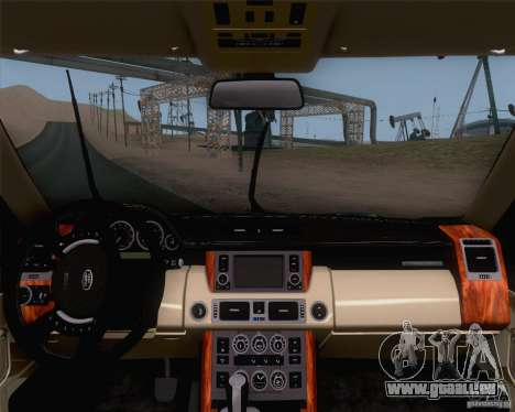 Land Rover Range Rover Supercharged 2008 für GTA San Andreas rechten Ansicht