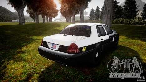 Ford Crown Victoria 2003 Florida CVPI [ELS] pour GTA 4 est un côté
