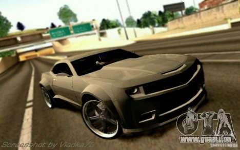 Chevrolet Camaro Tuning für GTA San Andreas