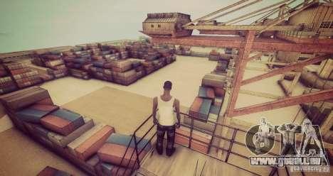 Tokyo Drift map pour GTA San Andreas cinquième écran