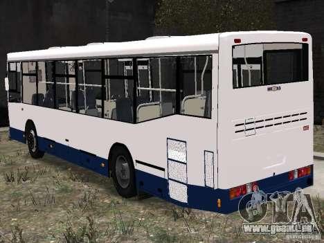 NefAZ-5299 10-15 für GTA 4 hinten links Ansicht