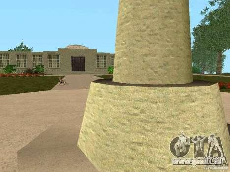 Nouvelles textures pour la station de l'unité pour GTA San Andreas quatrième écran