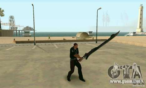 Schwert des Nero in Devil May Cry 4 für GTA San Andreas