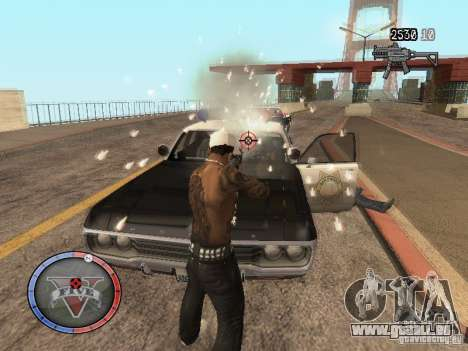 GTA 5 HUD für GTA San Andreas her Screenshot