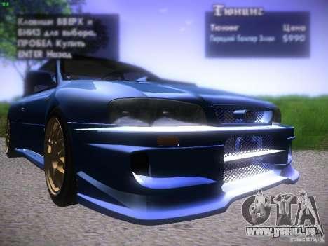 Subaru Impreza 22b Tunable für GTA San Andreas