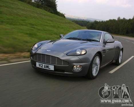 Aston Martin V12 Vanquish 6.0 i V12 48V v2.0 für GTA Vice City rechten Ansicht