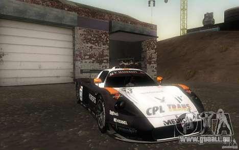 Maserati MC12 GT1 pour GTA San Andreas vue arrière