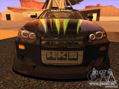Nissan Skyline R34 Tunable pour GTA San Andreas salon