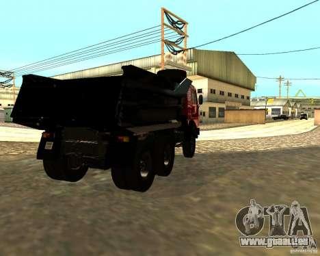 KAMAZ 55111 für GTA San Andreas rechten Ansicht