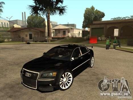 Audi A8 Tuned für GTA San Andreas