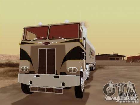Peterbilt 352 pour GTA San Andreas laissé vue