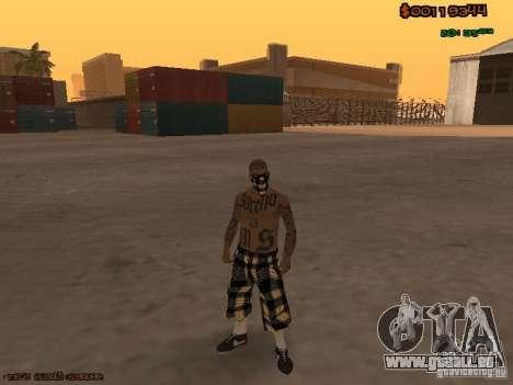 Vagos Skins pour GTA San Andreas troisième écran
