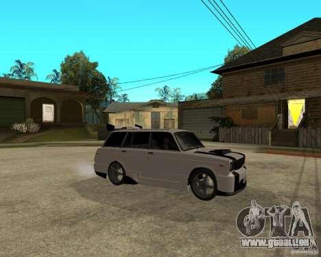 VAZ 2104 schwer Tuning für GTA San Andreas rechten Ansicht