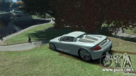 Porsche Carrera GT pour GTA 4 est une gauche