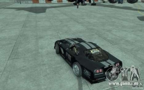 Dodge Viper Competition Coupe pour GTA 4 est une gauche