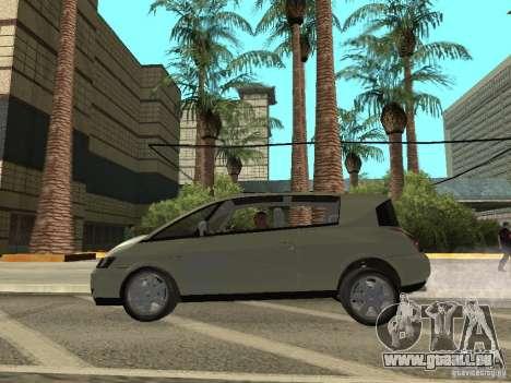 Renault Avantime pour GTA San Andreas sur la vue arrière gauche