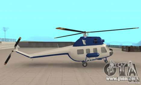 Mi-2 canaux pour GTA San Andreas sur la vue arrière gauche