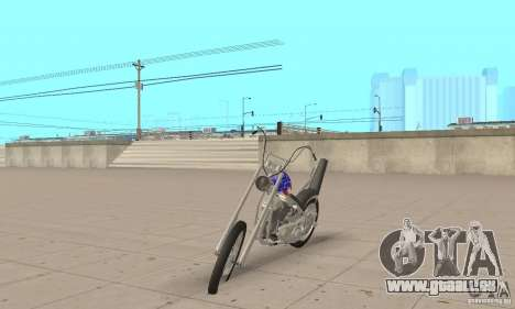 Captain America Chopper pour GTA San Andreas