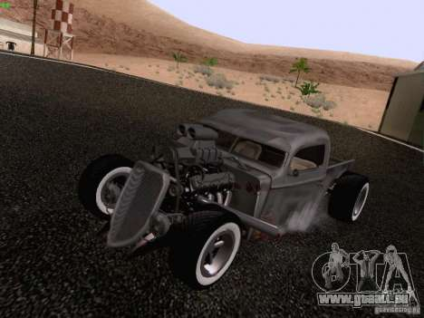 Ford Pickup Ratrod 1936 für GTA San Andreas