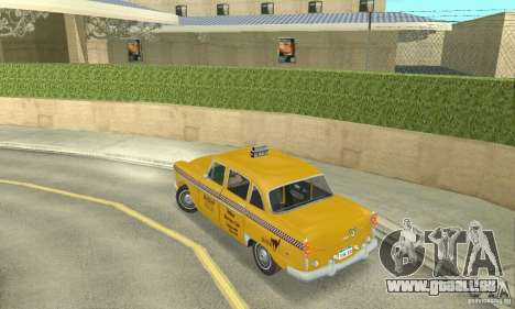 Checker Marathon 1977 Taxi pour GTA San Andreas laissé vue