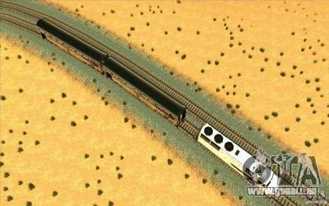 Décrochage des wagons pour GTA San Andreas troisième écran
