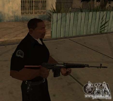 Pak domestique armes améliorés pour GTA San Andreas