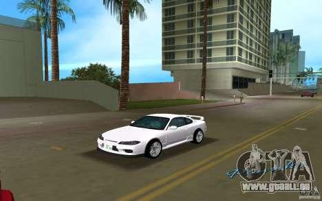 Nissan Silvia spec R Light Tuned für GTA Vice City