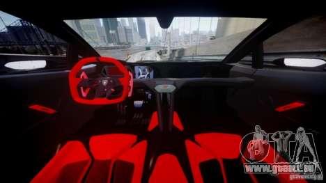 Lamborghini Sesto Elemento 2013 V2.0 pour GTA 4 Vue arrière