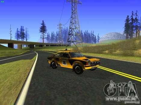 Opel Kadett pour GTA San Andreas vue de droite