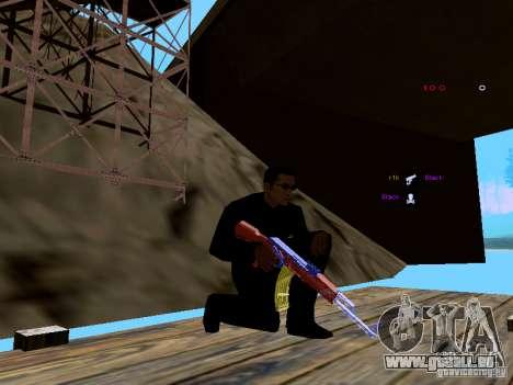 Ice Weapon Pack für GTA San Andreas elften Screenshot