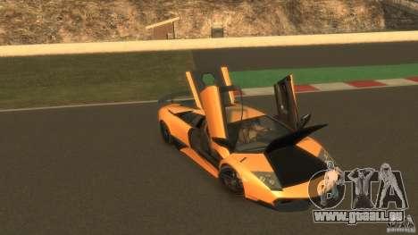 Lamborghini Murcielago VS LP 670 FINAL pour GTA 4 est un côté