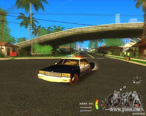 Chevrolet Caprice Classic 1986 LVMPD für GTA San Andreas