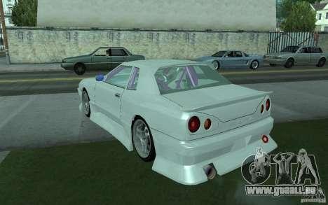 Elegy MS R32 pour GTA San Andreas vue arrière