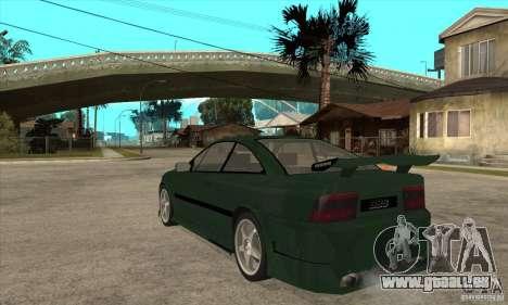 Opel Calibra pour GTA San Andreas sur la vue arrière gauche