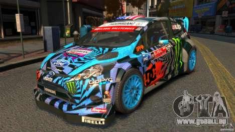 Ford Fiesta Rallycross Ken Block (Hoonigan) 2013 für GTA 4