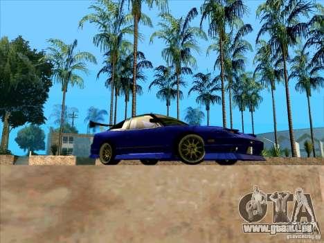 Nissan 240SX Drift Team für GTA San Andreas Rückansicht