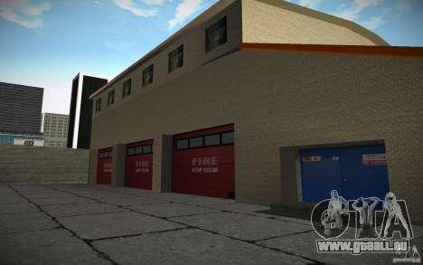 Service d'incendie de HD pour GTA San Andreas quatrième écran