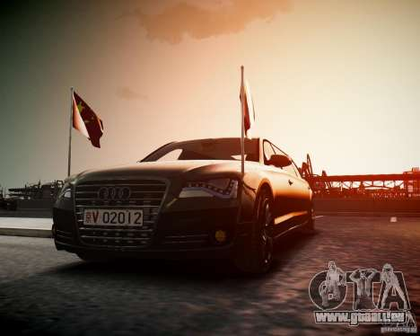 Audi A8 Limo für GTA 4 rechte Ansicht