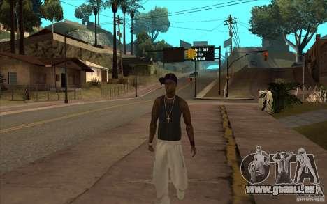 The Ballas Gang [CKIN PACK] pour GTA San Andreas troisième écran