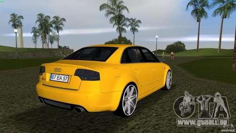Audi RS4 pour une vue GTA Vice City de la droite