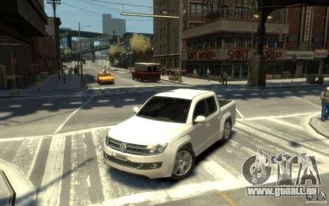 Volkswagen Amarok TDI 2011 für GTA 4 linke Ansicht