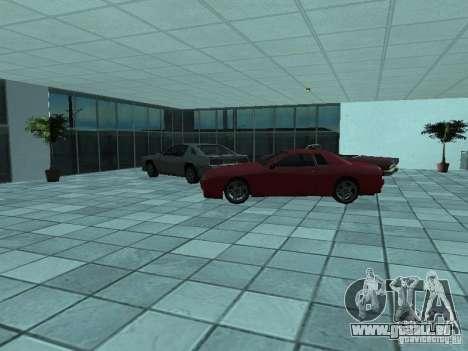 Plus de voitures au salon automobile de Doughert pour GTA San Andreas quatrième écran